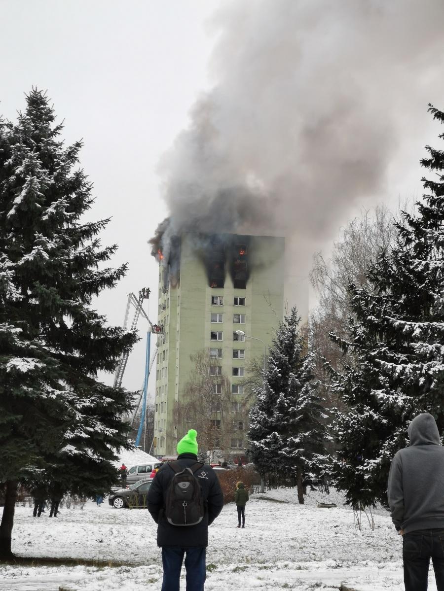 V Prešove vybuchol plyn