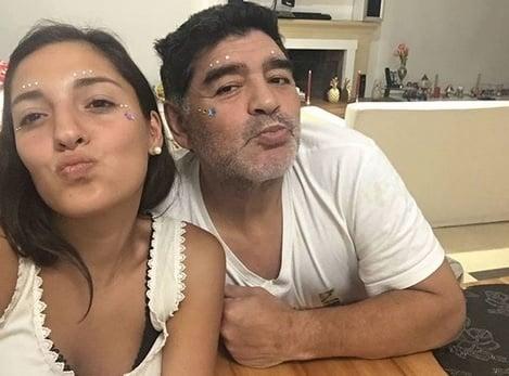 Maradonova dcéra Jana je