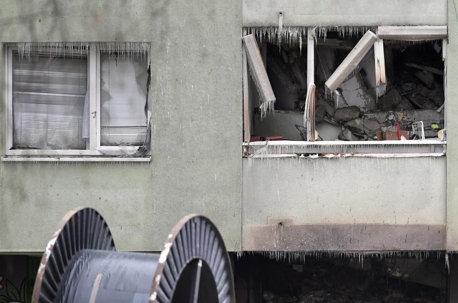 Zhorený bytový dom v