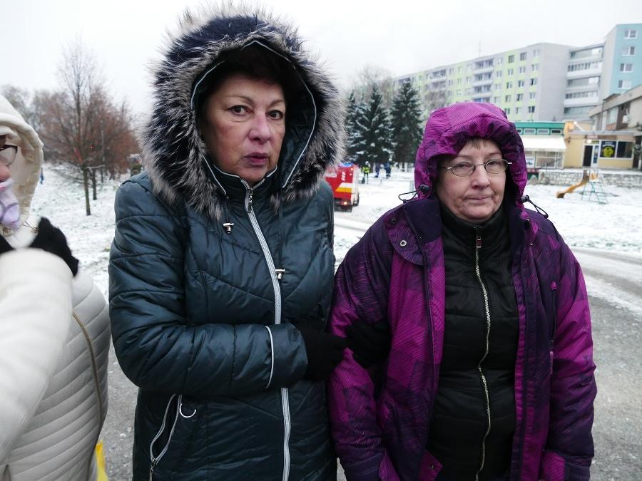 Silvia Hrebeňárová (vpravo) sa