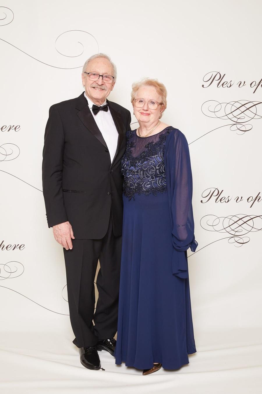František Kovár s manželkou