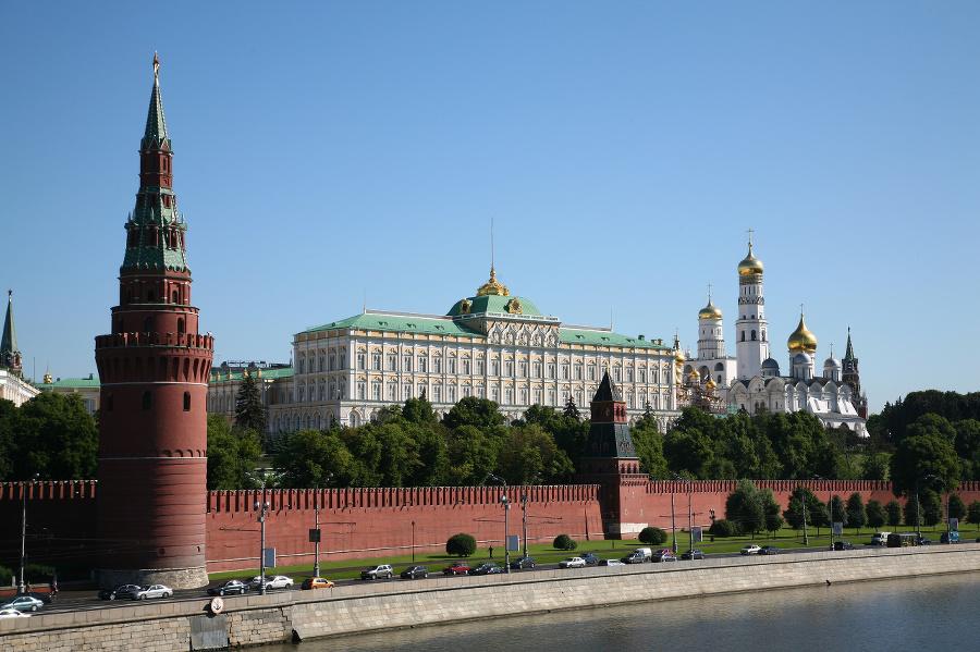 'Kremlin in Moscow, Russian