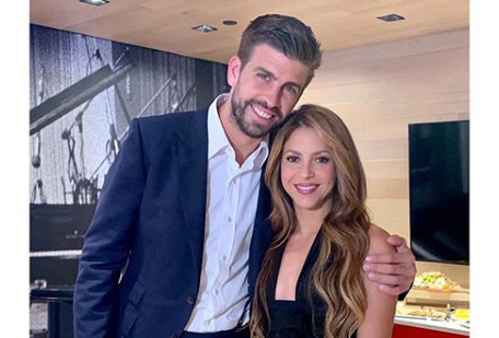 Speváčka Shakira a futbalista