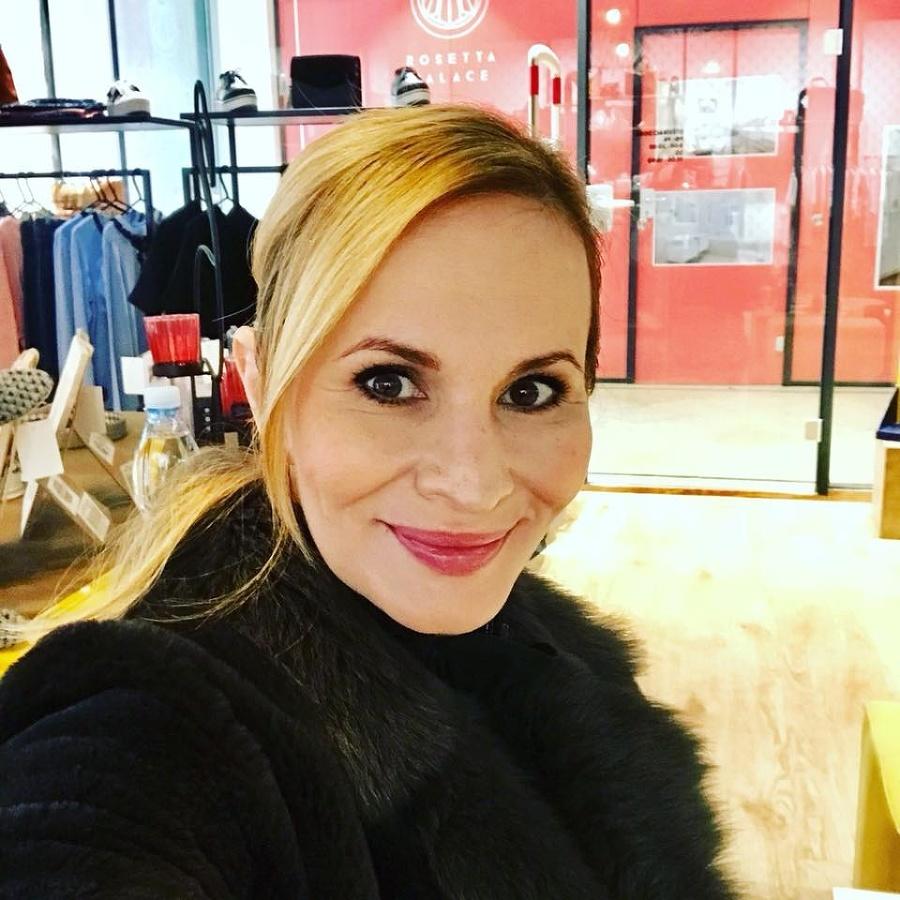 Česká speváčka Monika Absolonová