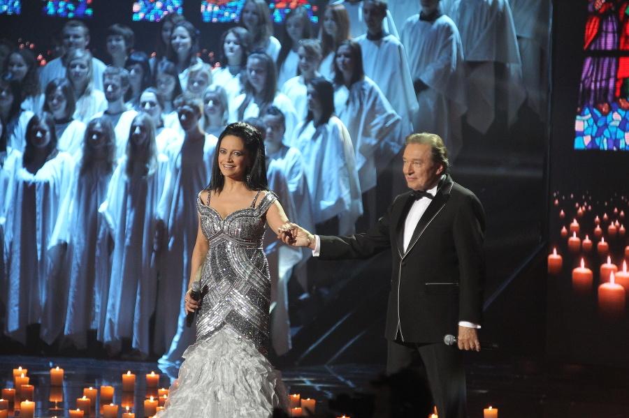 Lucie Bílá a Karel