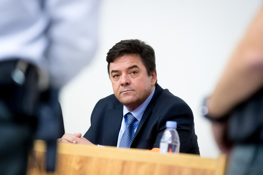 Marián Kočner sedí za