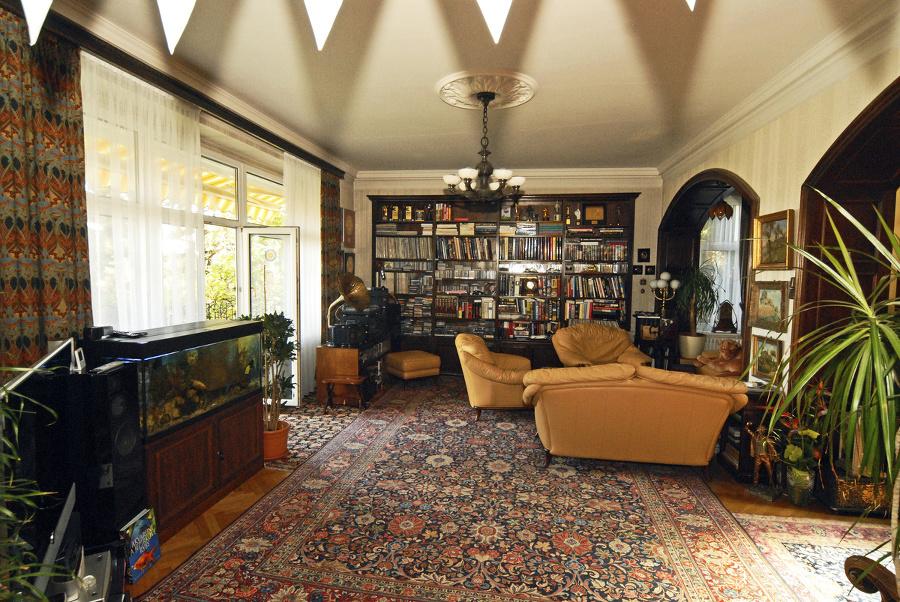 Obývačka: Dominuje v nej