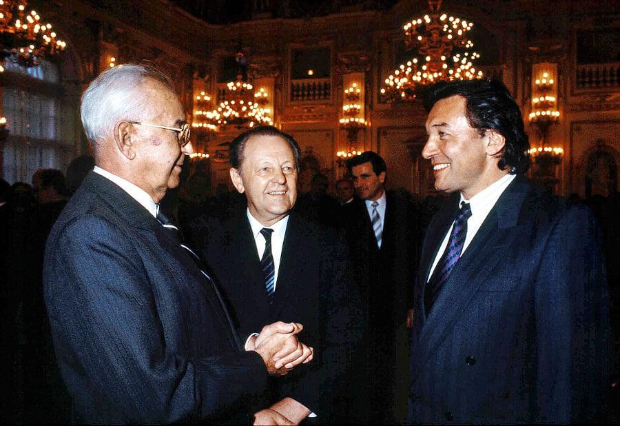 1988:  S prezidentom