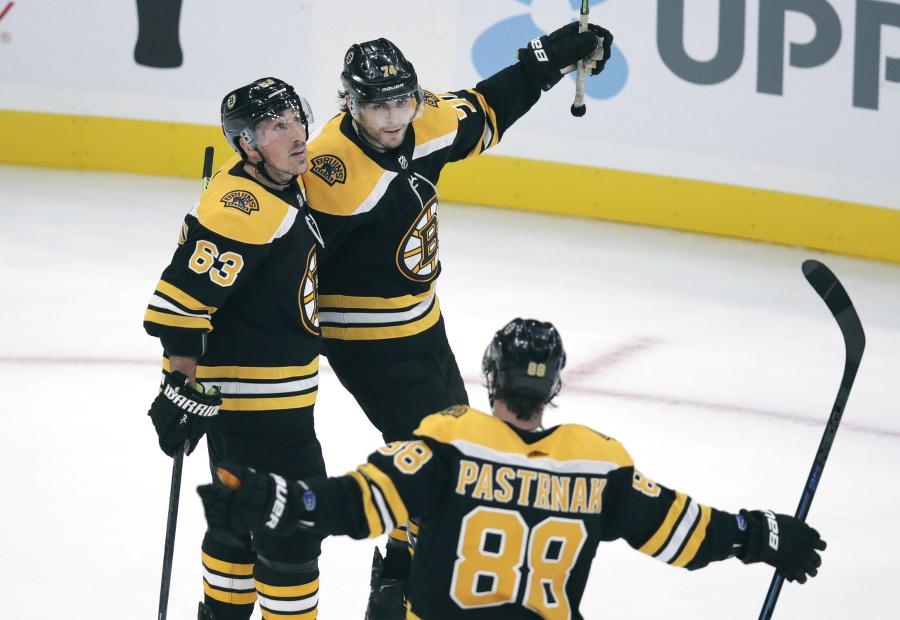 Boston Bruins porazil Anaheim