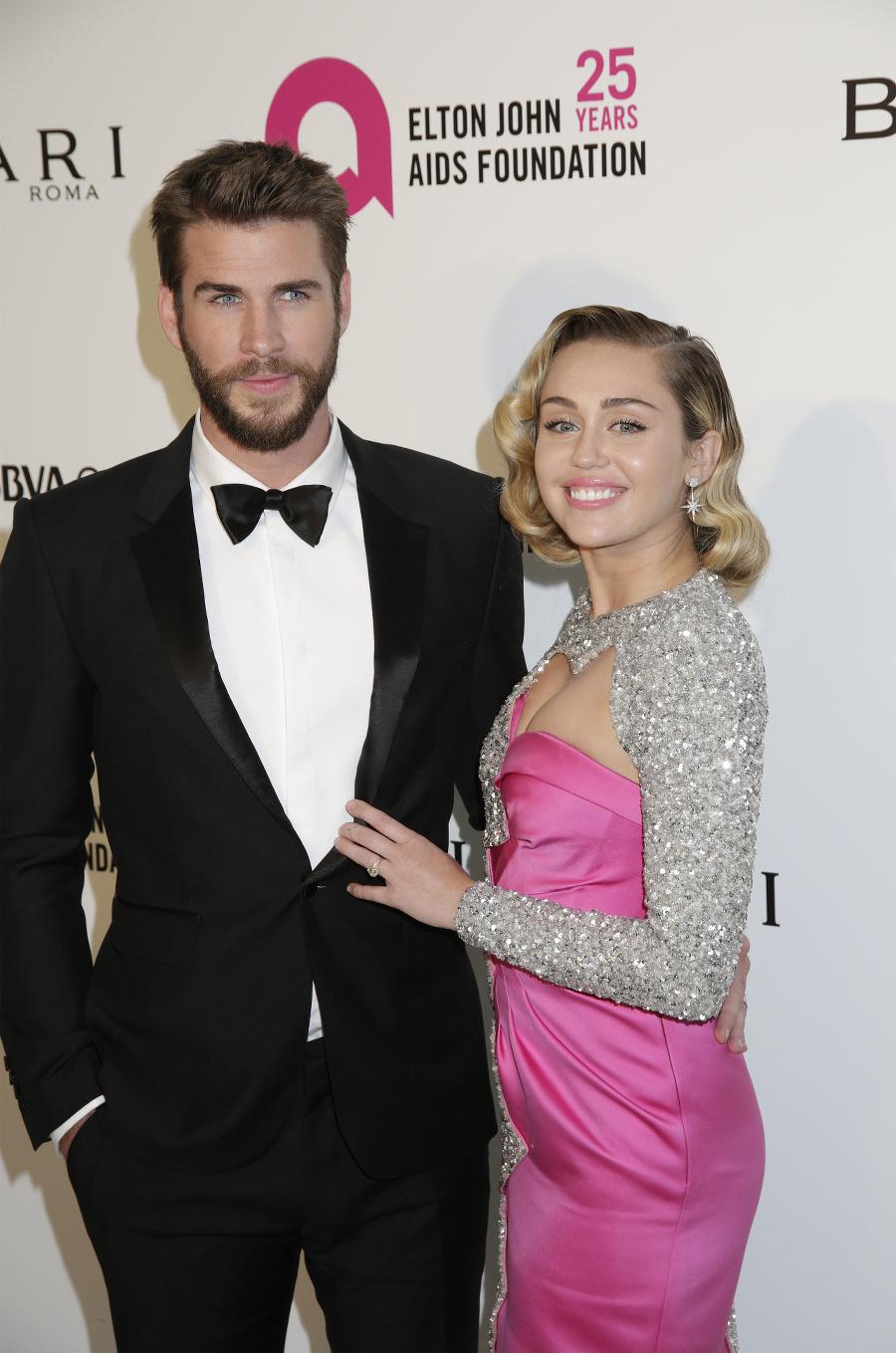 Herečka Miley Cyrus a
