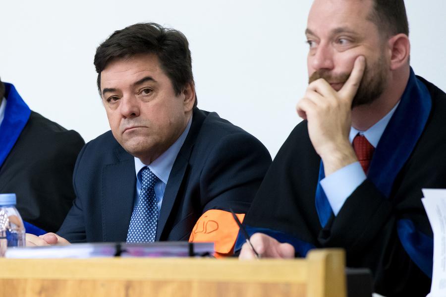 Marian Kočner počas súdneho