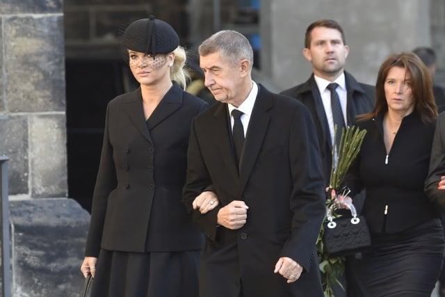 Príchod českého premiéra Andreja