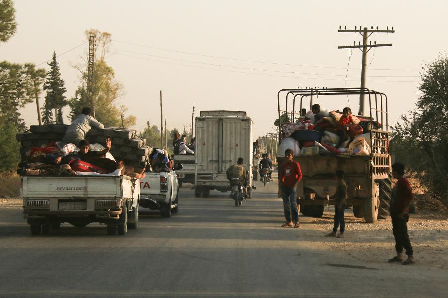 Sýrčania utekajú pred tureckou