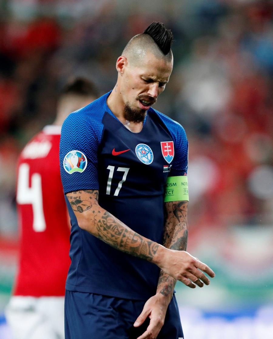 Kapitán slovenského tímu Marek