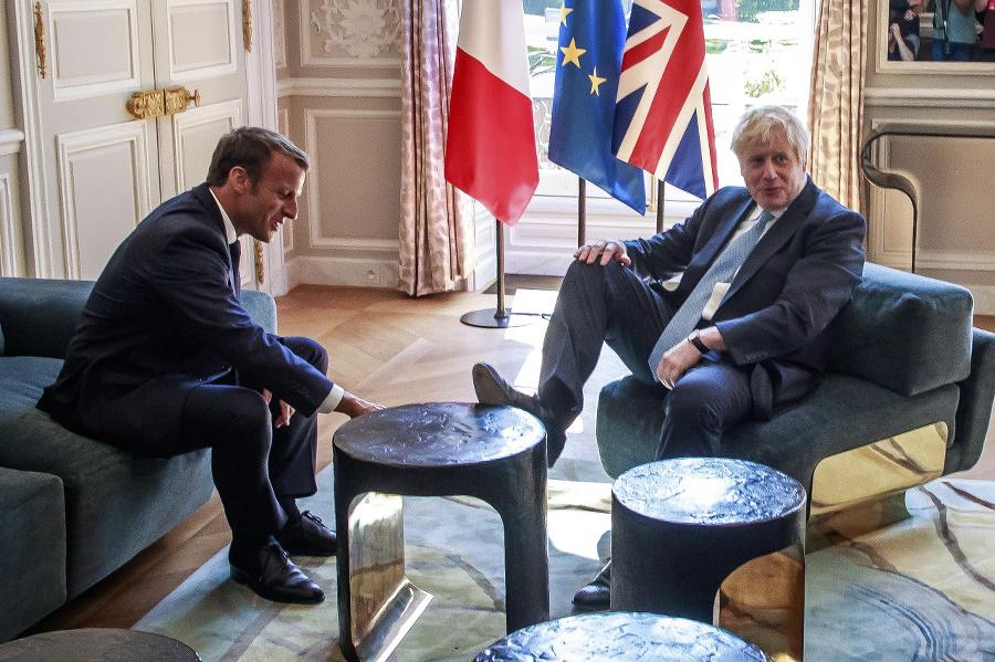 Boris Johnson si na