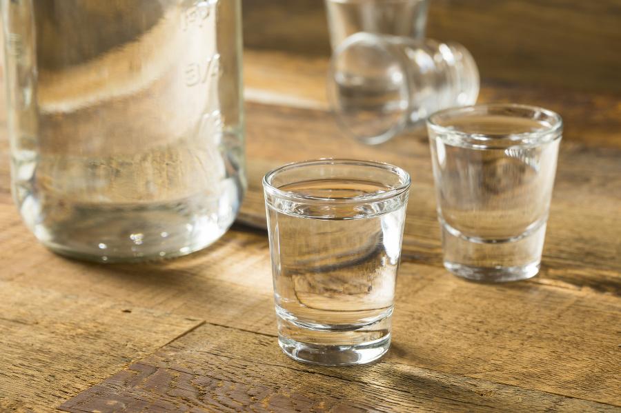 Boozy Alcoholic American Moonshine