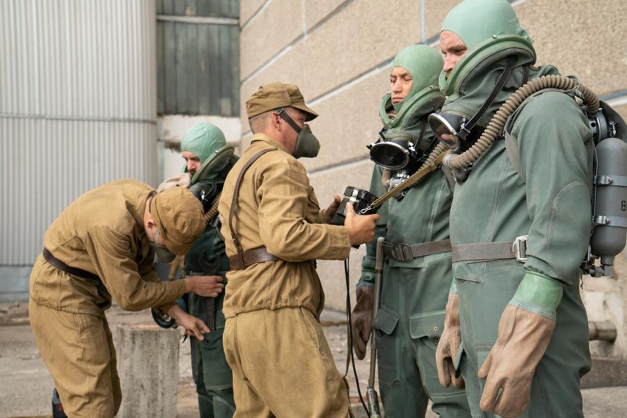 Záber zo seriálu Černobyľ