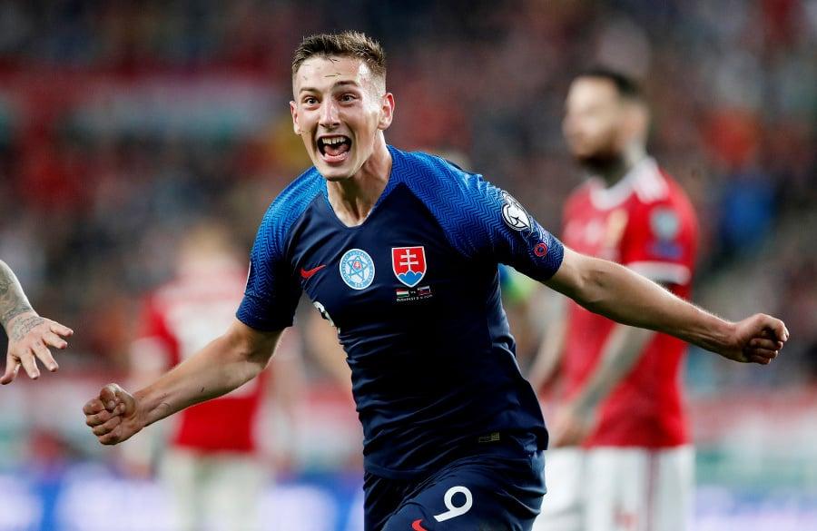 Strelec druhého gólu Slovákov