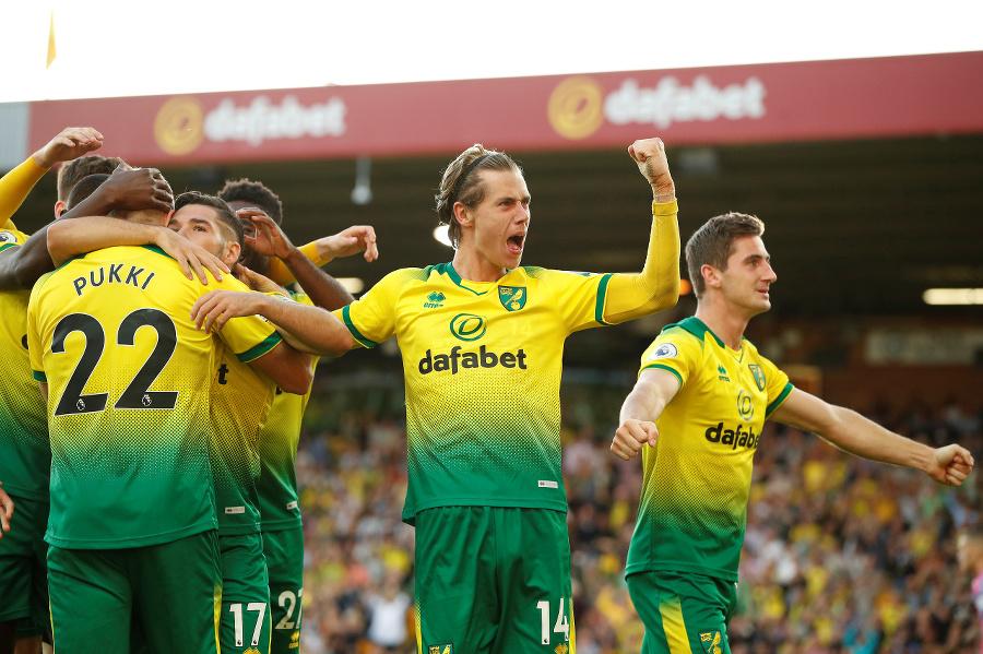 Hráči Norwichu.