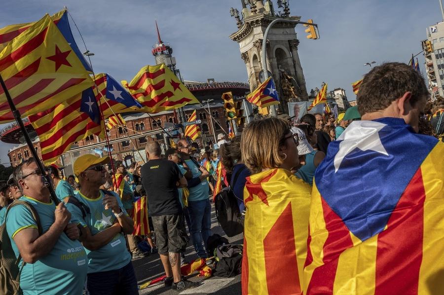Katalánci si pripomínajú svoj