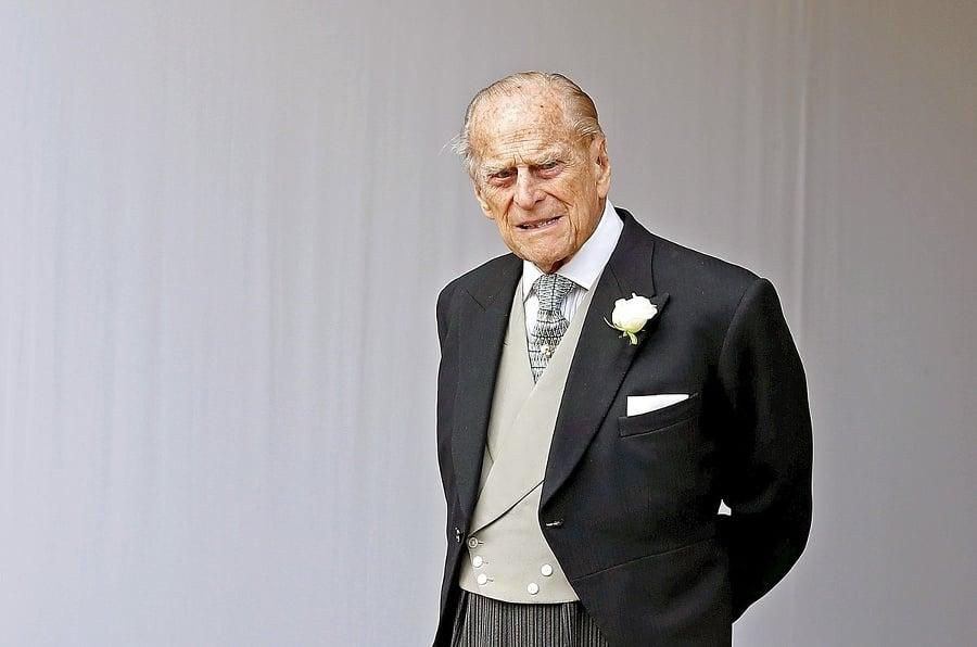 Princ Philip (97) bol
