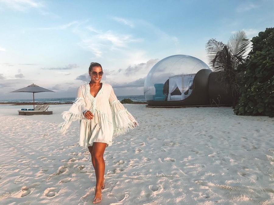 Dominika Cibulková na exotickej