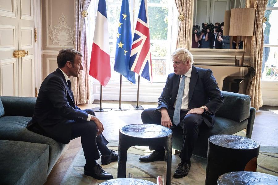 Emmanuel Macron a Boris
