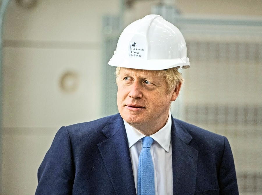 Britský premiér Johnson tvrdí,