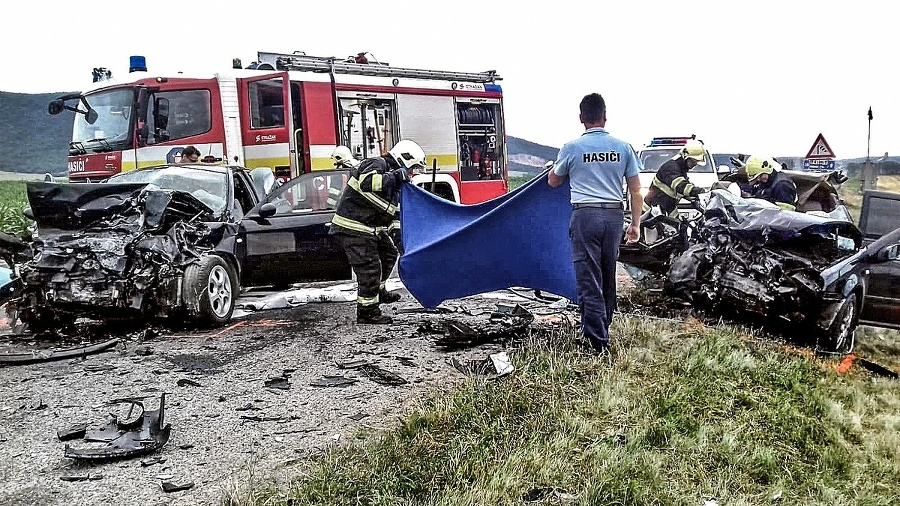 Nehoda: Podľa polície nedal