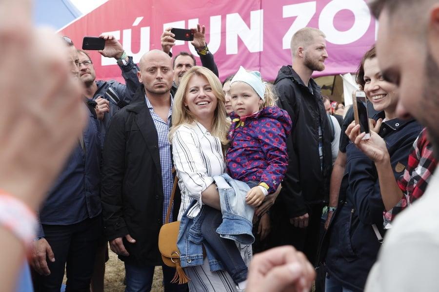 Prezidentka Zuzana Čaputová na