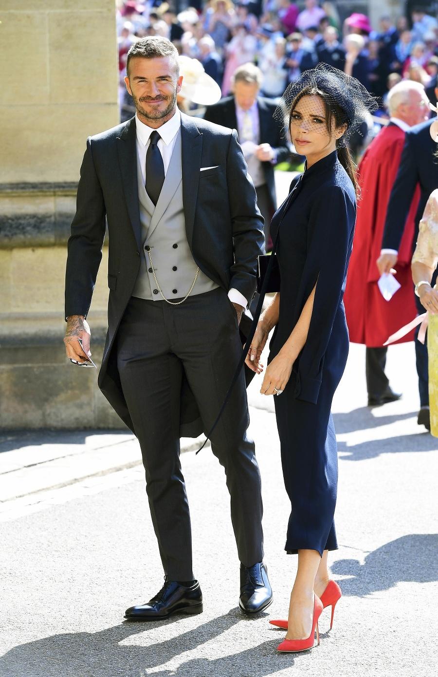 David a Victoria Beckhamovci.