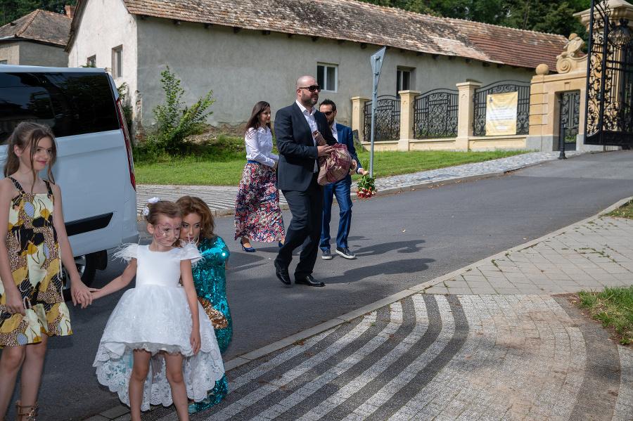 Tkáčová bola na svadbe
