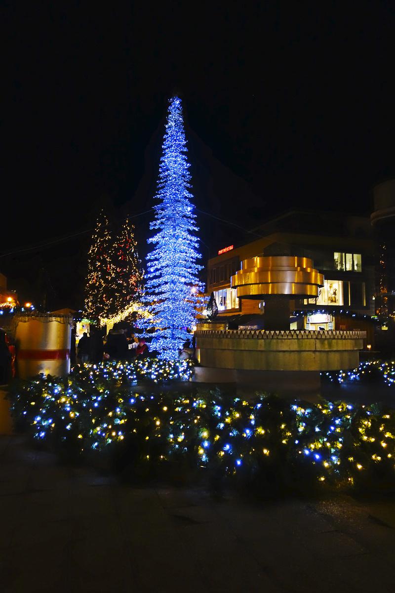 Krištáľový vianočný stromček
