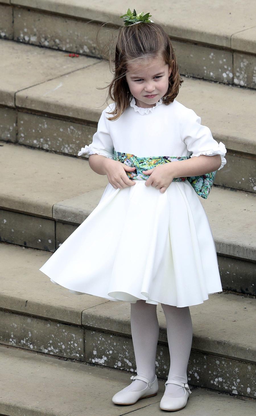 Princezná Charlotte na svadbe