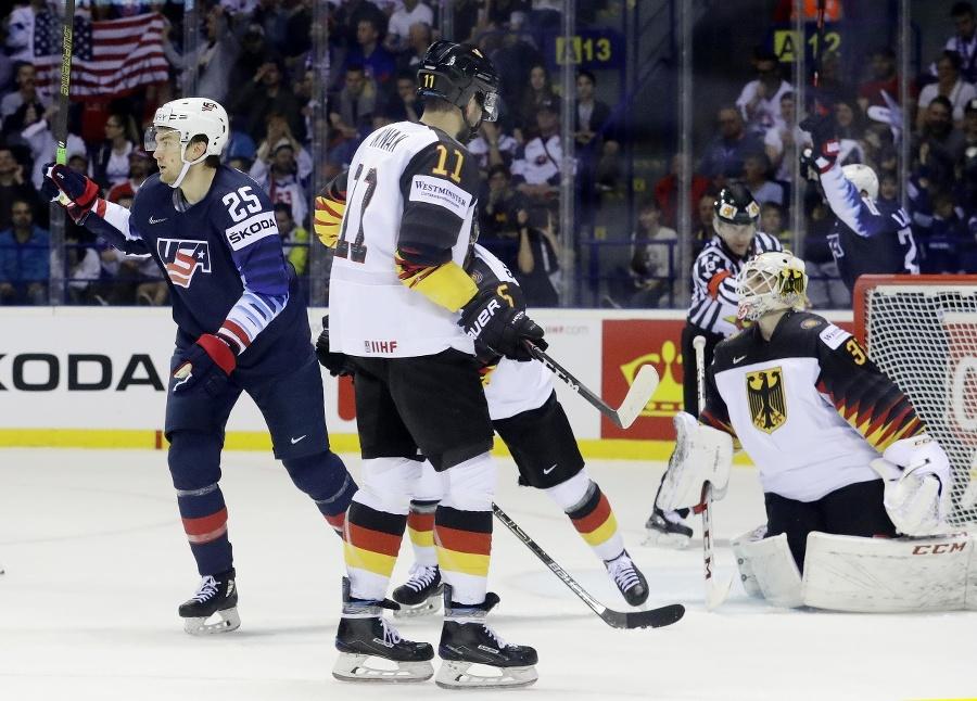 Zápas majstrovstiev sveta Nemecko:USA.