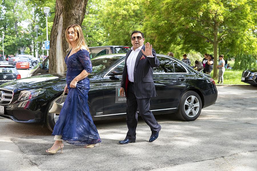 Igor Kmeťo s manželkou