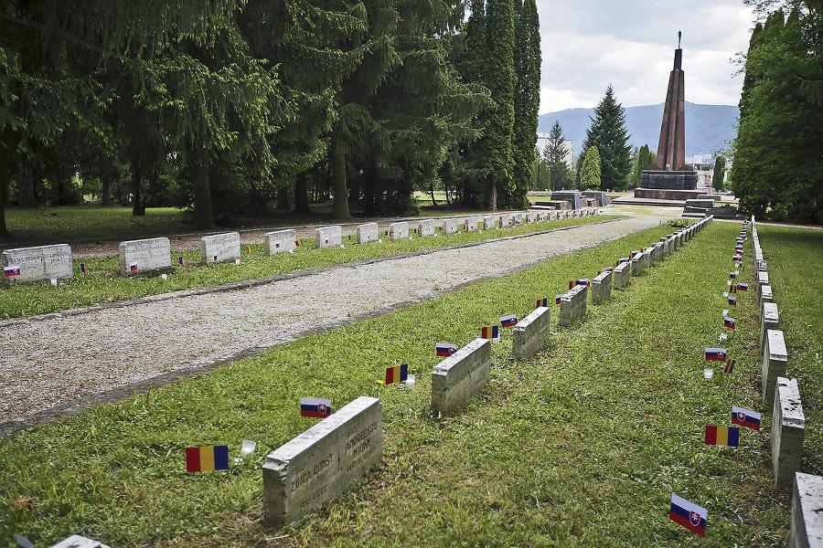 Zvolen: Vojenský cintorín