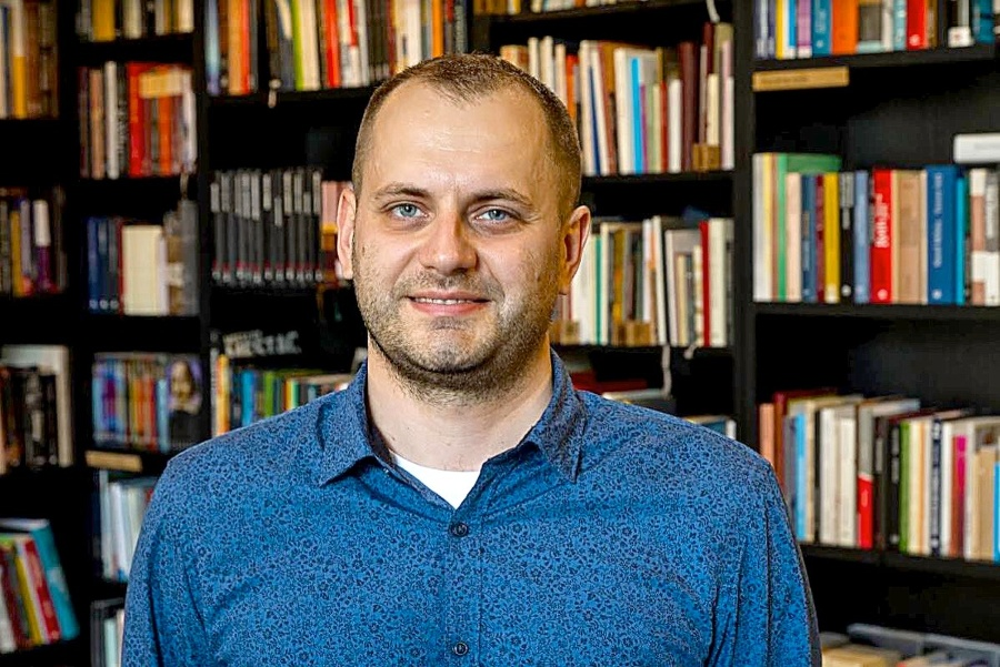 Jakub Drábik, expert na fašizmus a neonacizmus.