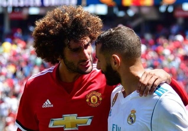 Fellaini (vľavo) má za