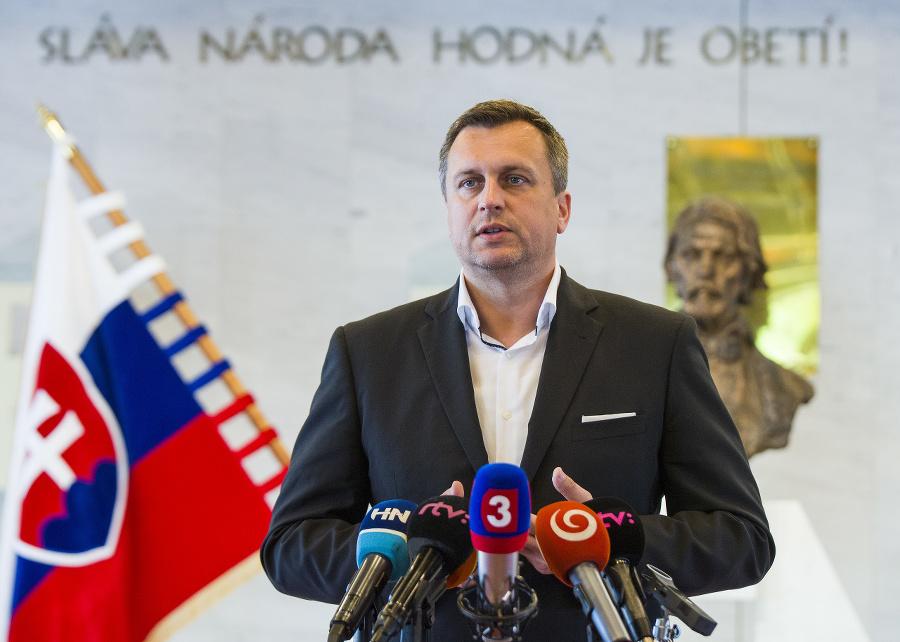 Andrej Danko si prevzal