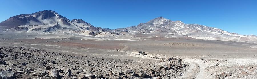 Čile - najvyššia sopka