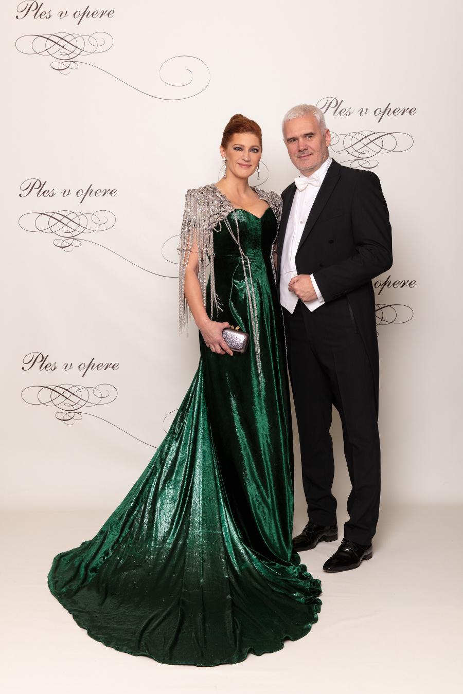 Andrea Cocherová a Ivan