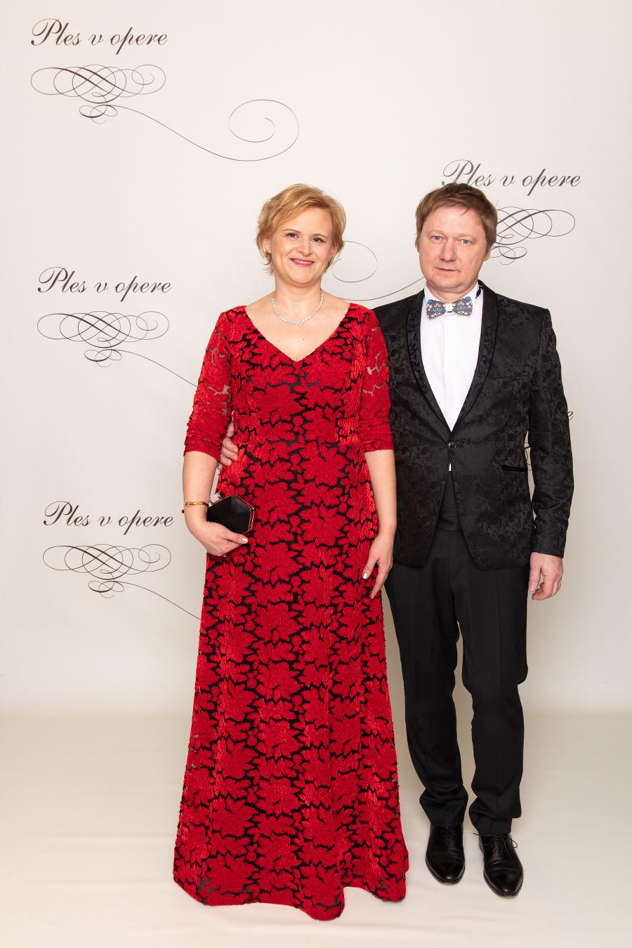 Terézia Drdulová s manželom