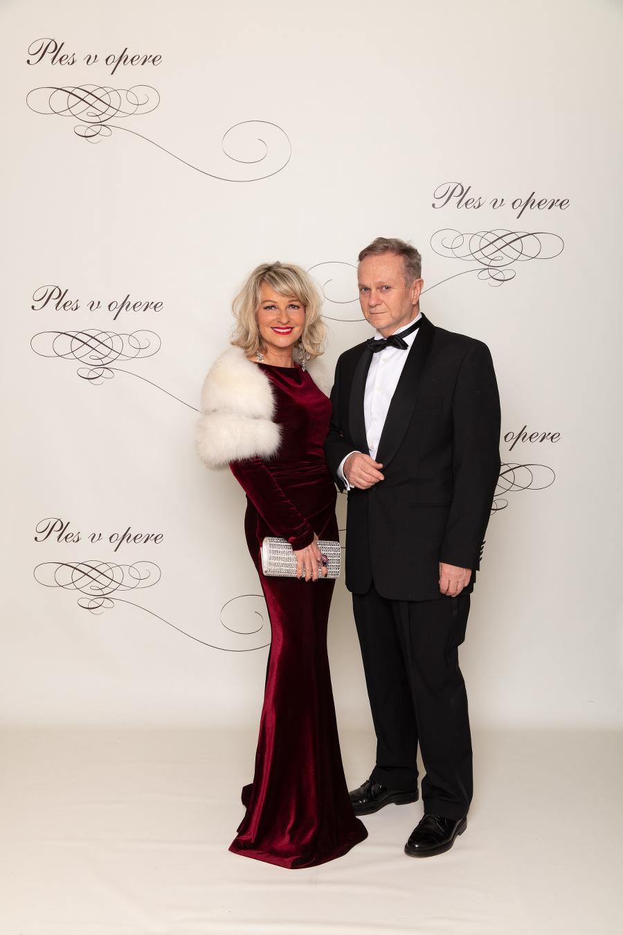 Ján Kuric a manželka