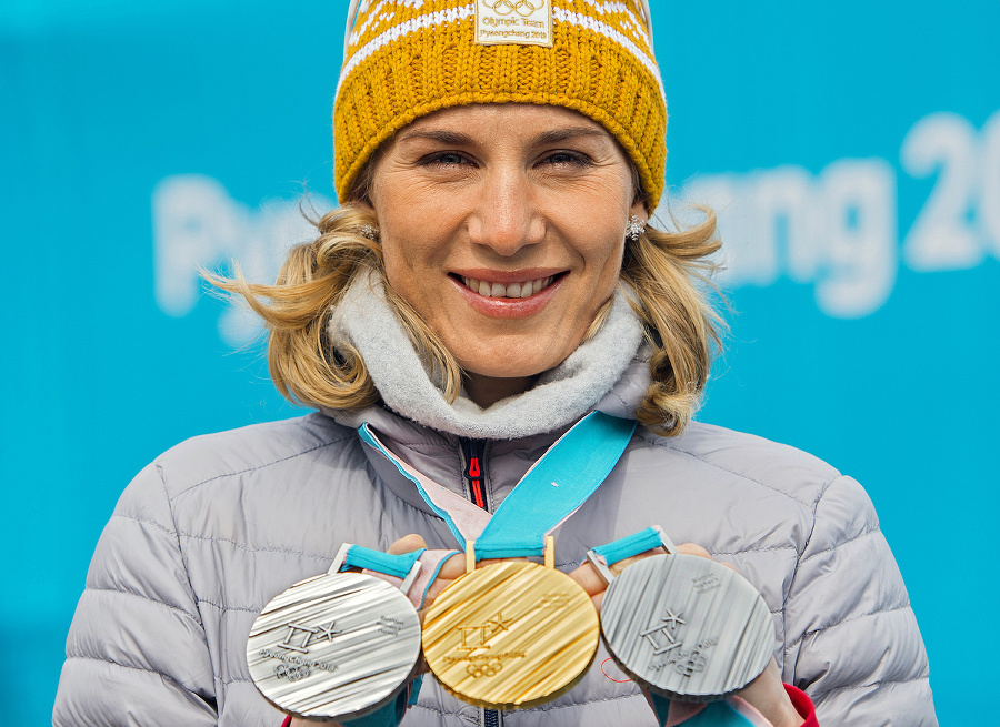 Anastasia Kuzminová, biatlonistka.