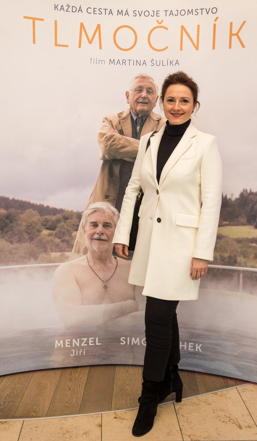 Herečka Zuzana Mauréry