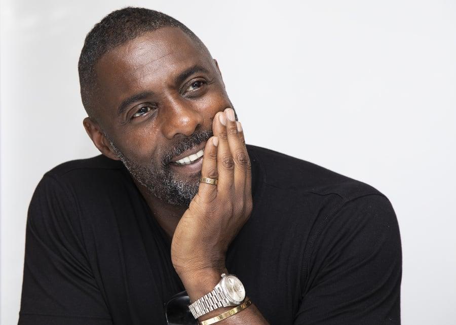 Britský herec Idris Elba