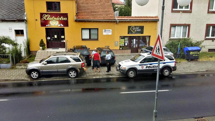 Matej Snopko parkoval na