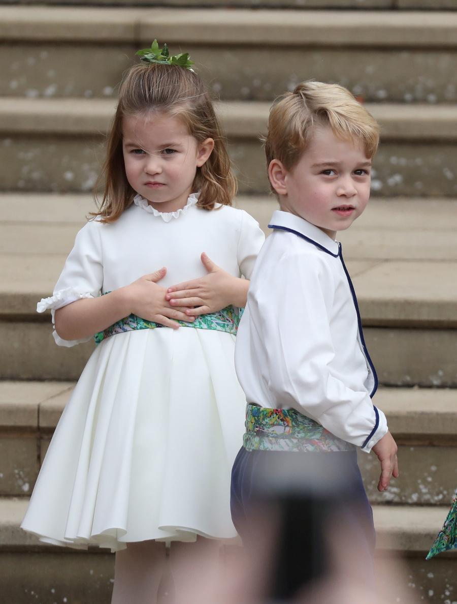 Charlotte a George na
