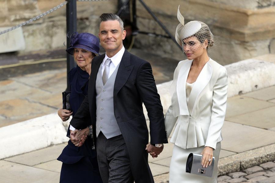 Robbie Williams s manželkou